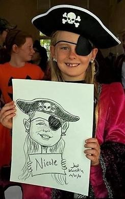Charlotte Party Caricaturist