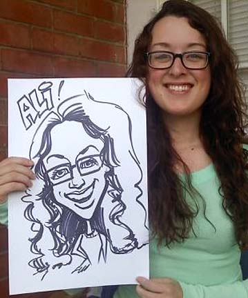 Richmond Party Caricaturist