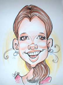 Party Caricature Artist Joy