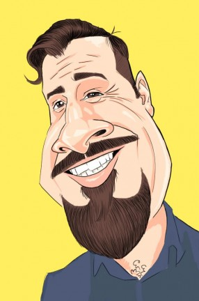 Party Caricature Artist Justin