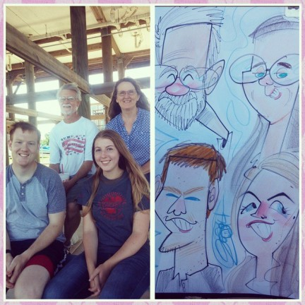 Houston Party Caricature Artists