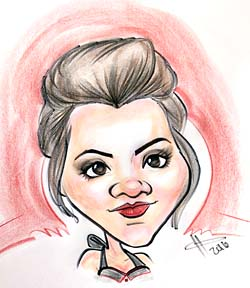 Party Caricature Artist Kara