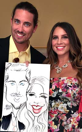 Louisville Party Caricatures