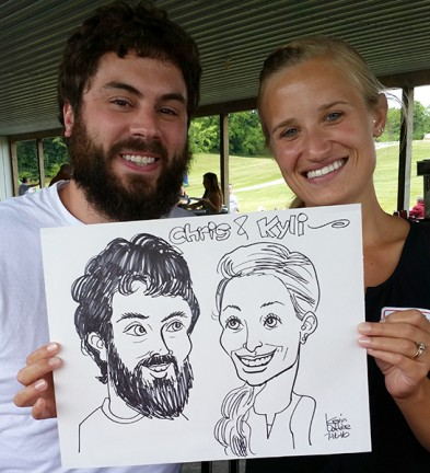 Ft Wayne Party Caricature Artist