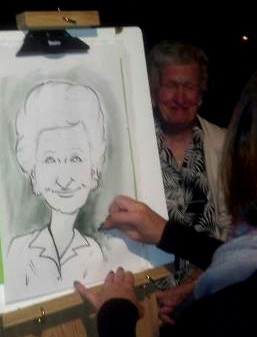 Toledo Party Caricatures