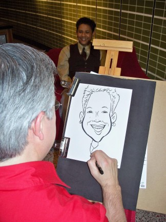 Seattle Party Caricaturist