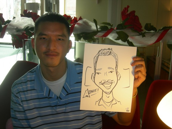 Seattle Party Caricature Artists