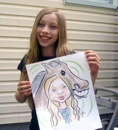 Central Long Island Party Caricature Artist