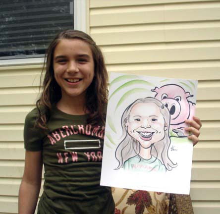 Central Long Island Party Caricature Artists