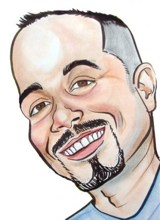 Party Caricature Artist Lucindo