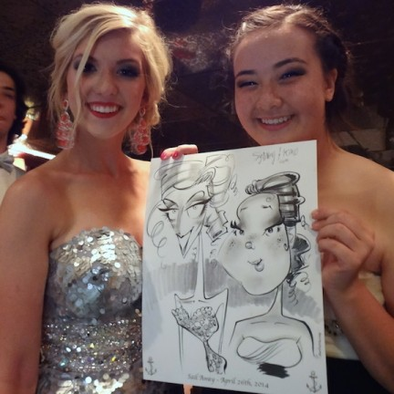Houston Party Caricaturist