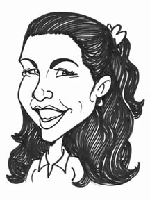 Party Caricature Artist Marlee