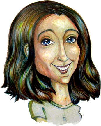 Party Caricature Artist Marlene