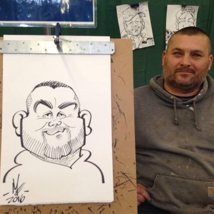 Everett Party Caricature Artists