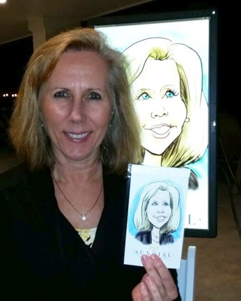 Tampa Digital Caricatures