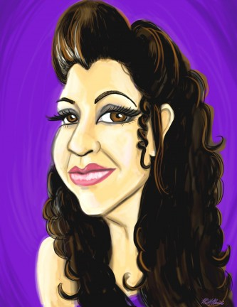 Digital Caricature Artist Melissa
