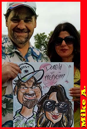 Newark Party Caricature Artist