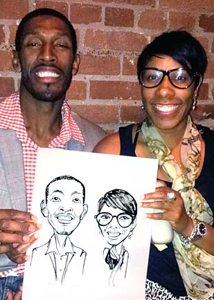York Region Party Caricatures