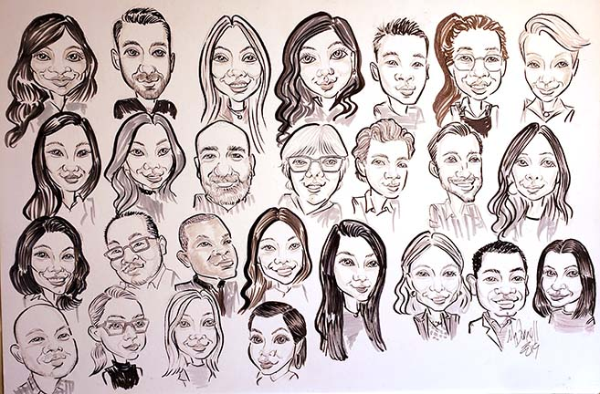 York Region Party Caricature Artists