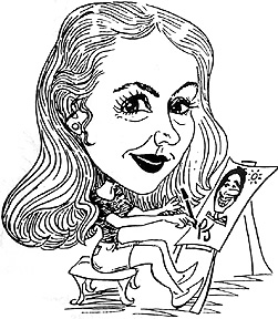 Party Caricature Artist Paula