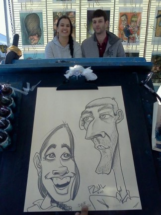 New York City - Manhattan Party Caricatures