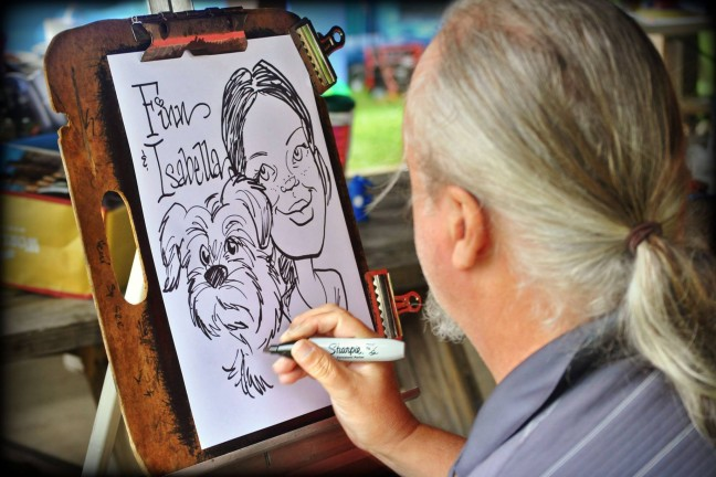 Pet Caricature Artist John