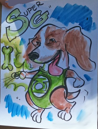 Albany Party Pet Caricatures