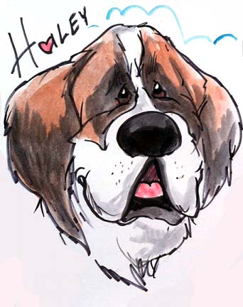Pet Caricature Artist Rich