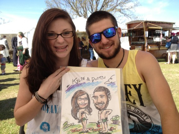 Oklahoma City Party Caricatures