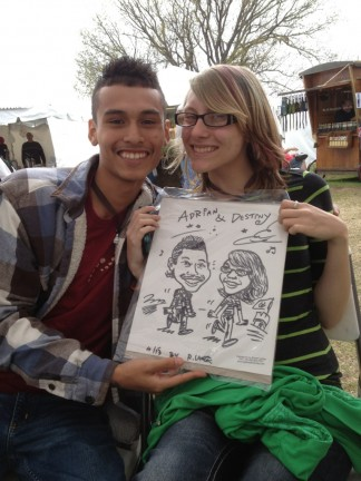 Oklahoma City Party Caricature Artists