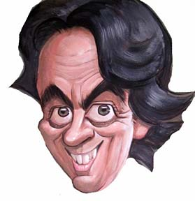 Party Caricature Artist Robert