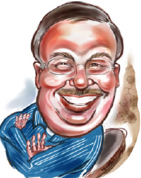 Digital Caricature Artist Rob