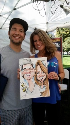 Denver Party Caricatures