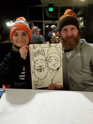 Denver Party Caricature Artists