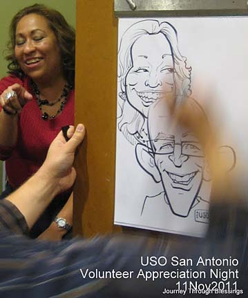 San Antonio Party Caricatures