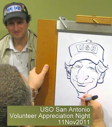 San Antonio Party Caricature Artists