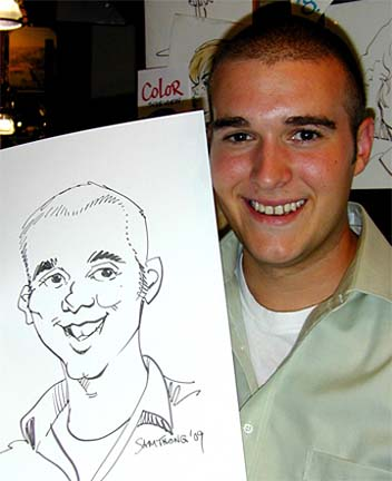 Pittsburgh Party Caricatures