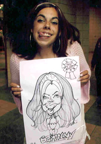 Canton Party Caricatures