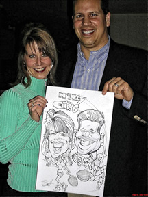 Canton Party Caricaturist
