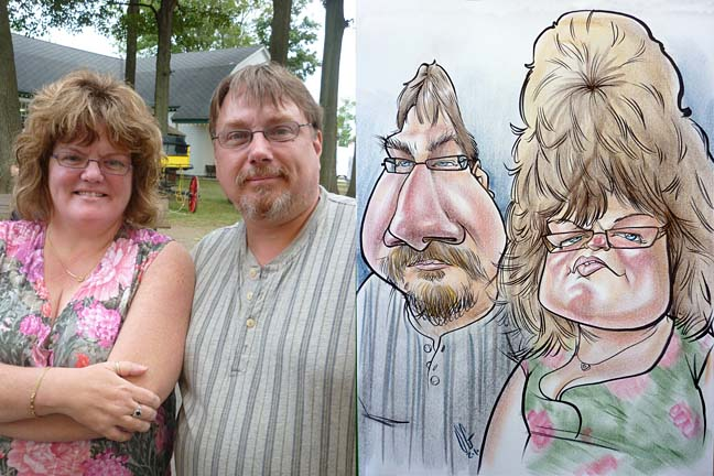 Allentown Party Caricaturist