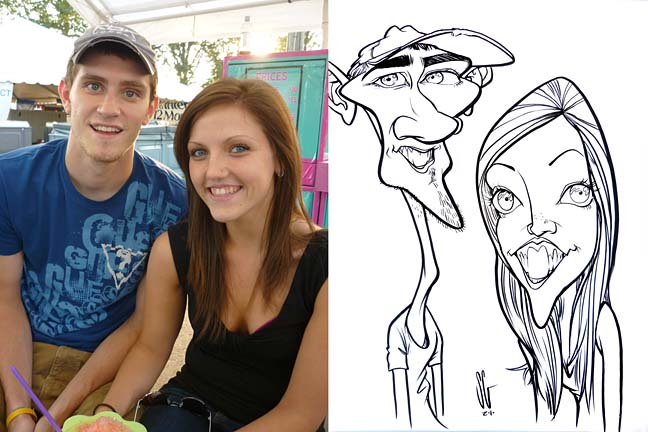 Allentown Party Caricature Artist