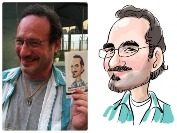 San Francisco Party Caricaturist