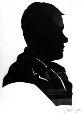Party Silhouette Artist Lothar