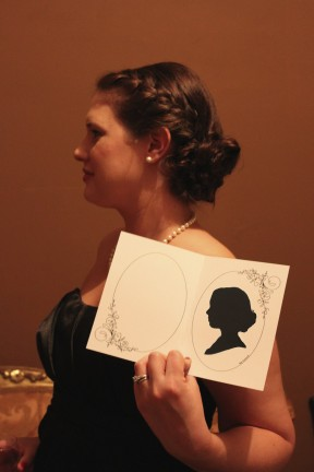 Houston Party Silhouette Artists