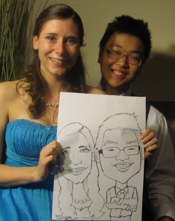 Richmond Party Caricatures