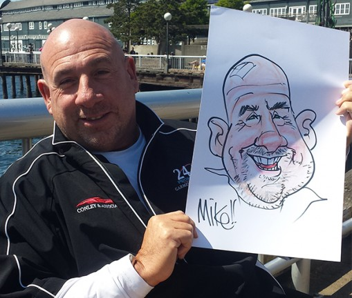 Everett Party Caricaturist