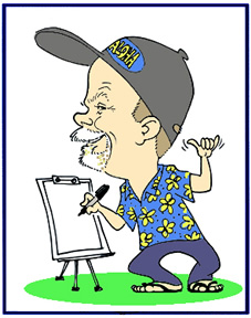 Party Caricature Artist T