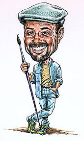 Gift Caricature Artist Tom