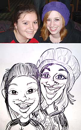 Fargo Party Caricature Artist