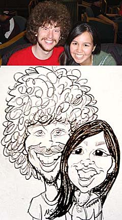 Fargo Party Caricatures
